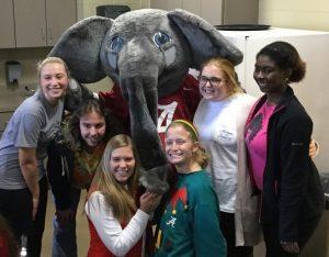 undergrads with Big AL