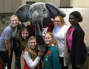 Big AL with Math undergrads