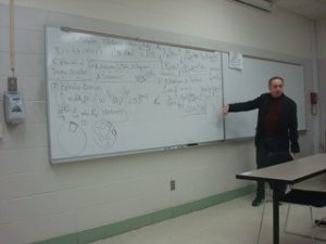 Alexey Karapetyants gives visiting lecture